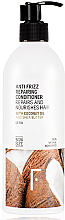 Parfumuri și produse cosmetice Balsam regenerant pentru păr - Freshly Cosmetics Anti Frizz Repairing Conditioner