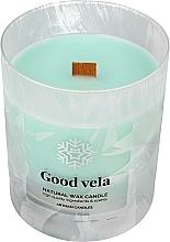 Parfumuri și produse cosmetice Lumânare decorativă în pahar mat, 8x9,5cm - Artman Organic Winter Good Vela