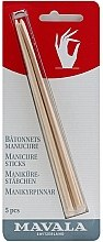 Parfumuri și produse cosmetice Bețișoare din lemn de portocal pentru manichiură - Mavala Manicure Sticks