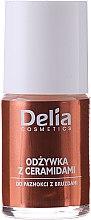 Parfumuri și produse cosmetice Balsam pentru unghii cu ceramide - Delia Cosmetics Active Ceramides Nail Conditioner
