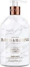 Parfumuri și produse cosmetice Săpun lichid de mâini - Baylis & Harding White Tea & Vitamin E Hand Wash