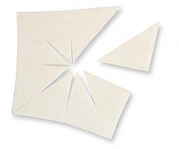 Parfumuri și produse cosmetice Burete din latex, formă triunghiulară - Make Up Factory Sponge