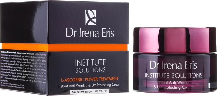 Crema de zi pentru față - Dr Irena Eris Institute Solution L-ascorbic Power Treatment — Imagine N1