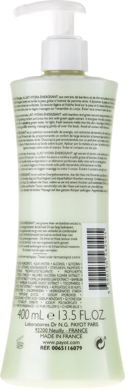 Fluid hidratant pentru corp - Payot Corps Energisant Lait Hydra-Energisant — Imagine N2
