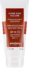 Cremă cu protecție solară pentru corp - Sisley Super Soin Solaire Silky Body Cream — Imagine N2