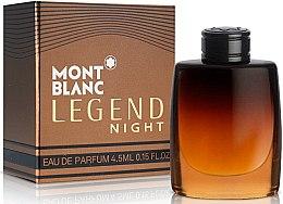 Parfumuri și produse cosmetice Montblanc Legend Night - Apă de parfum (mini)