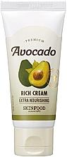 Parfumuri și produse cosmetice Cremă cu extract de avocado pentru pielea uscată - SkinFood Premium Avocado Rich Cream