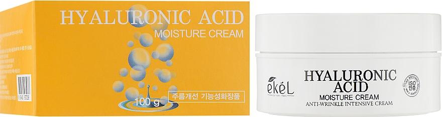 Cremă hidratantă cu acid hialuronic pentru față - Ekel Hyaluronic Acid Moisturee Cream