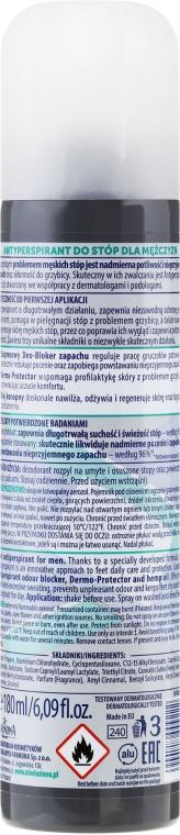 Deodorant pentru picioare - Farmona Nivelazione For Men Feet Antiperspirant — фото N2