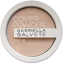 Parfumuri și produse cosmetice Pudră de față - Gabriella Salvete Cover Powder SPF15