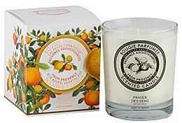 Parfumuri și produse cosmetice Lumânare aromatică - Panier Des Sens Decorative Scented Candle In Glass Provence