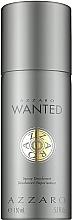 Parfumuri și produse cosmetice Azzaro Wanted - Deodorant spray