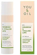 """Parfumuri și produse cosmetice Balsam de buze """"Nutriție și revitalizare"""" - You & Oil Nourish & Vitalise Lip Balm"""