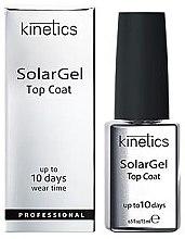 Parfumuri și produse cosmetice Strat de acoperire (Top Gel) pentru Oja semipermanentă - Kinetics Top Coat Solar Gel Up To 10 Days