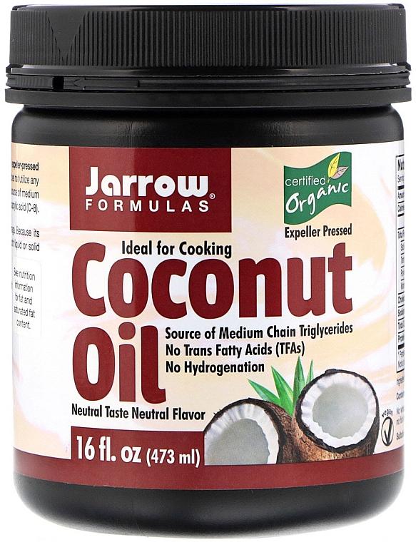 Ulei organic de nucă de cocos - Jarrow Formulas Coconut Oil