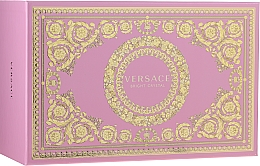 Parfumuri și produse cosmetice Versace Bright Crystal - Set (edt/90ml + edt/10ml + pounch)