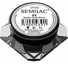 Parfumuri și produse cosmetice Gel pentru designul unghiilor - Semilac Spider Gum UV Gel