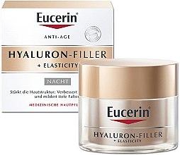 Духи, Парфюмерия, косметика Антивозрастной ночной крем для лица - Eucerin Hyaluron-Filler + Elasticity Night Cream