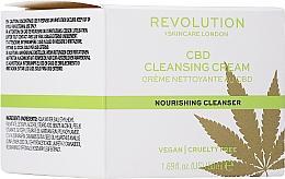 Parfumuri și produse cosmetice Cremă de curățare pentru față - Revolution Skincare CBD Cleansing Cream