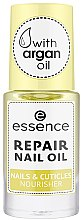 Parfumuri și produse cosmetice Ulei regenerant nutritiv pentru unghii și cuticule - Essence Repair Nail Oil Nails & Cuicles Nourisher