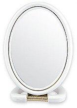 Parfumuri și produse cosmetice Oglindă cosmetică, 5145, albă - Top Choice