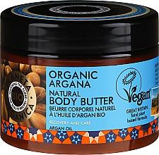 Parfumuri și produse cosmetice Cremă-unt de corp - Planeta Organica Organic Argana Natural Body Butter