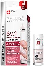 Parfumuri și produse cosmetice Ojă cu efect de întărire 6 în 1 - Eveline Cosmetics Nail Therapy Professional