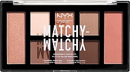 Parfumuri și produse cosmetice Paletă farduri de ochi - NYX Professional Makeup Matchy Matchy Palette