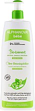 Parfumuri și produse cosmetice Loțiune de curățare pentru corp - Alphanova Bebe Bio-Liniment Olive Clensing Lotion