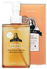 Parfumuri și produse cosmetice Ulei hidrofil - Etude House Real Art Cleansing Oil Perfect