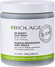 Parfumuri și produse cosmetice Mască de păr - Matrix Biolage R.A.W. Re-Bodify Clay Mask