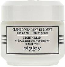 Parfumuri și produse cosmetice Cremă de noapte cu efect de lifting - Sisley Creme Collagene Et Mauve Botanical Night Cream