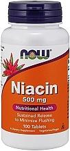 """Parfumuri și produse cosmetice Vitamina B3 """"Niacina"""" 500 mg - Now Foods Niacin"""