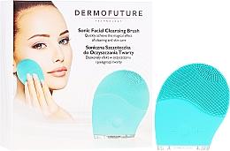 Parfumuri și produse cosmetice Щетка для очистки лица, синяя - Dermofuture Technology