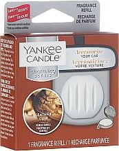Parfumuri și produse cosmetice Aromatizator auto (Rezervă) - Yankee Candle Charming Scents Refill Leather