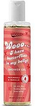 Parfumuri și produse cosmetice Gel de duș - Wooden Spoon I Have Butterflies In My Belly Shower Gel