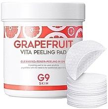 Духи, Парфюмерия, косметика Pad-uri peeling cu extract de grapefruit - G9Skin Grapefruit Vita Peeling Pad