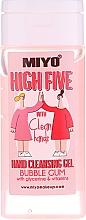 Parfumuri și produse cosmetice Gel de curățare pentru mâini - Miyo Bubble Gum High Five Hand Cleansing Gel