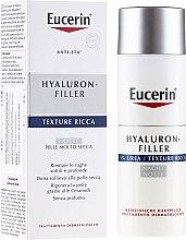 Parfumuri și produse cosmetice Cremă de noapte hidratantă - Eucerin Hyal-Urea Night Creme