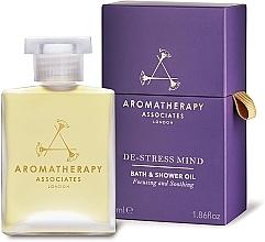 Parfumuri și produse cosmetice Ulei anti-stres pentru baie - Aromatherapy Associates De-Stress Mind Bath & Shower Oil