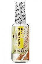 """Parfumuri și produse cosmetice Lubrifiant comestibil pe bază de apă """"Scorțișoară de mere"""" - Egzo Aroma Gel Apple Cinnamon"""