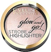 Parfumuri și produse cosmetice Iluminator pentru față - Eveline Cosmetics Glow And Go Strobe Highlighter