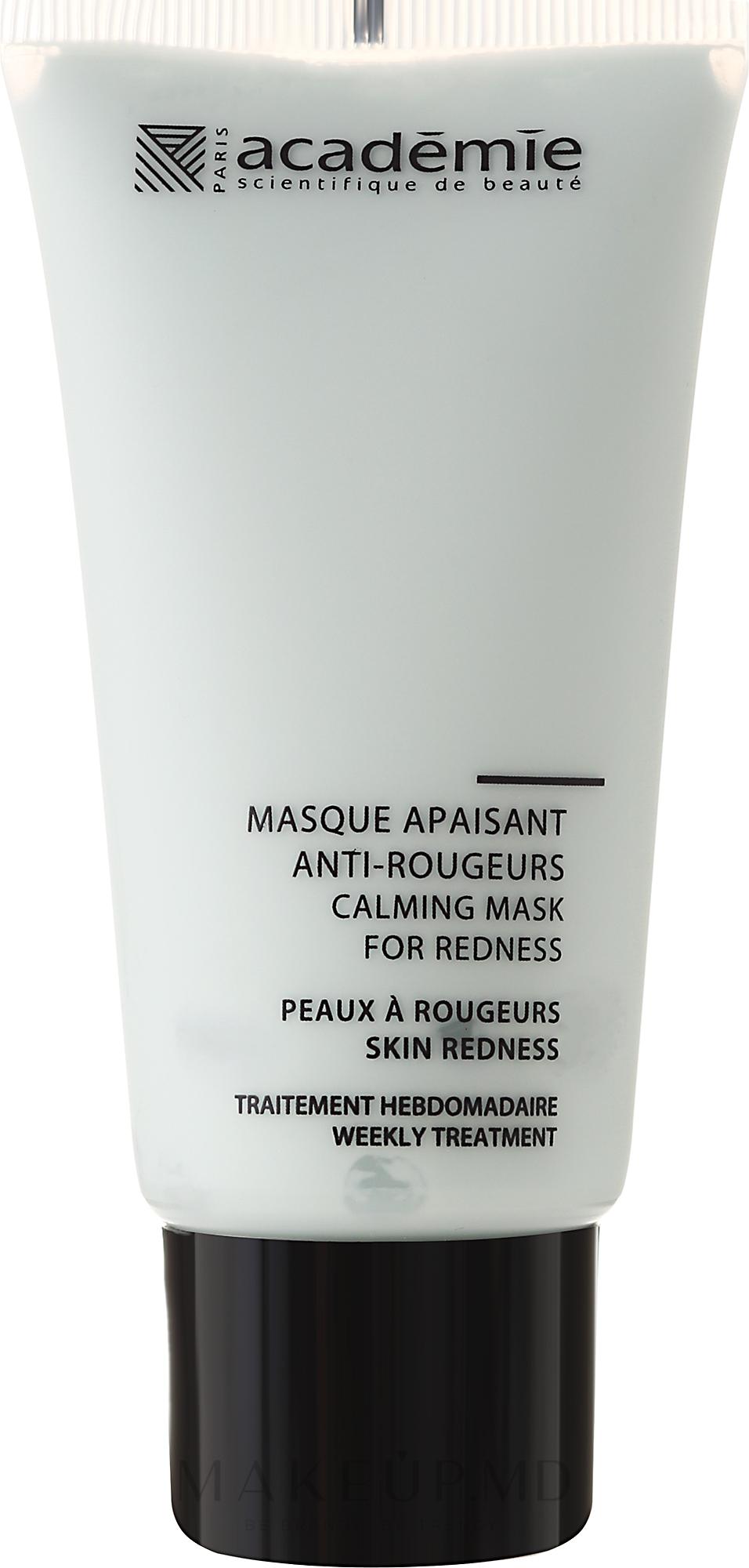 Успокаивающая маска для лица - Academie Sos Apaisant Anti Rougeurs Masque — фото 50 ml