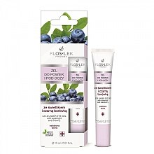 Parfumuri și produse cosmetice Gel cu extract de Euphrasia și afine pentru pleoape și zona din jurul ochilor - Floslek Lid And Under Eye Gel With Eyebright & Bilberry