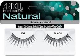 Parfumuri și produse cosmetice Extensii gene - Ardell Natural Lashes Black 106