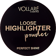 Духи, Парфюмерия, косметика Highlighter pulbere - Vollare Loose Highlighter Powder Perfect Shine (tester)