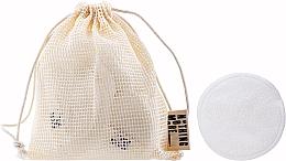 Parfumuri și produse cosmetice Discuri din bumbac, reutilizabile - Nothing More Originals Cotons Bambou + Filet