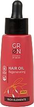 Parfumuri și produse cosmetice Ulei hidratant pentru păr - GRN Rich Elements Olive Hair Oil