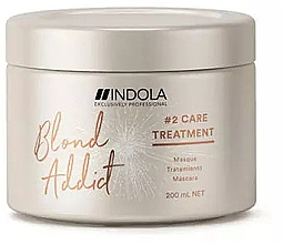 Parfumuri și produse cosmetice Mască de păr - Indola Blond Addict Treatment