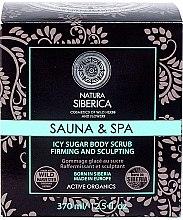 Parfumuri și produse cosmetice Scrub corporal cu efect de gheață pentru slăbit - Natura Siberica